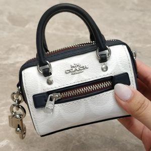 Coach coin purse keychain
